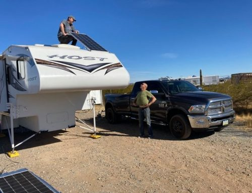 Truck Camper Solar Upgrade – Wendy's Project