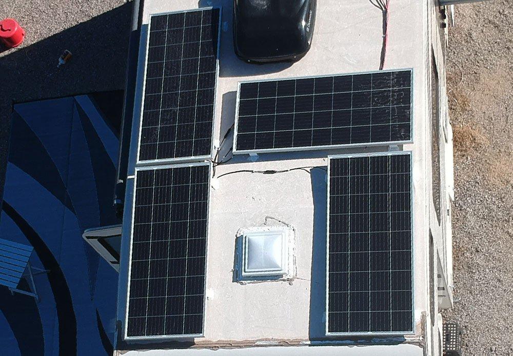 Solars close up